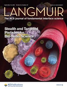 Cover of Langmuir, Vol 34, No 37